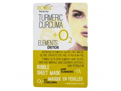 0770444 Bubble Mask Turmeric front
