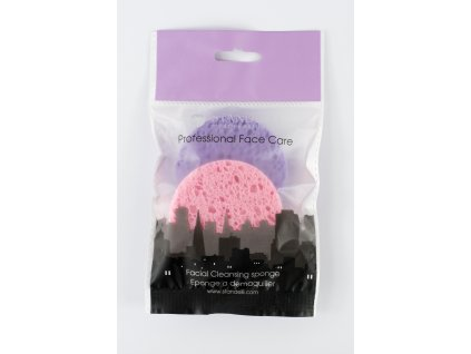 Standelli Professional Přírodní celulózová odličovací houbička barevná, 2 ks