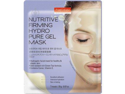 Purederm Hydrogelová pleťová maska liftingová , 1 gelový plát