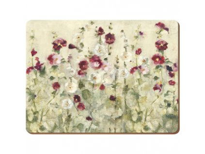 wild field poppies mat