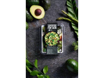 farmskinSuperfood maskpack avocado package