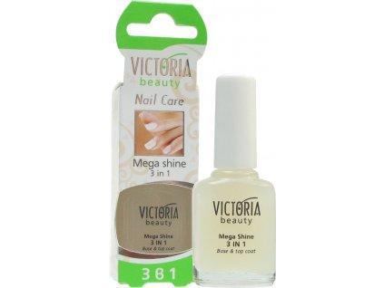 Victoria Beauty Maximální lesk 3 v 1, 12 ml