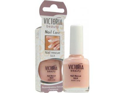 Victoria Beauty Péče o nehty Regenerující balzám s hedvábím,12 ml