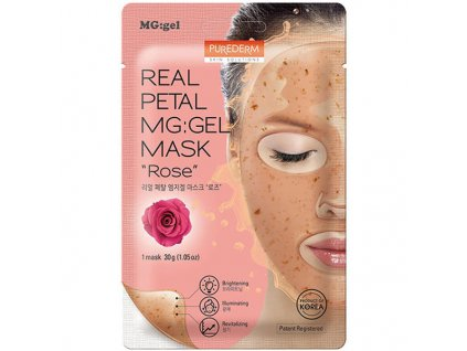 Purederm Real Petal MGGel Mask Rose