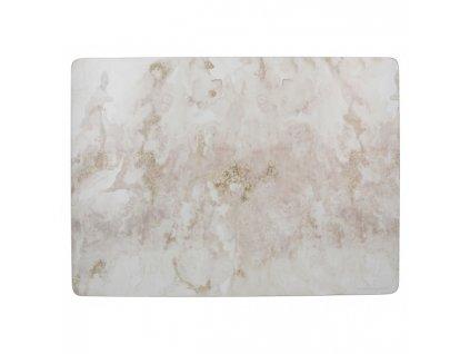 Creative Tops Korkové prostírání Grey Marble velké 40x29 cm 4 ks