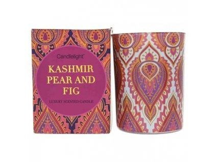 Candlelight Vonná svíčka ve skleněné dóze India 8x8x11 cm