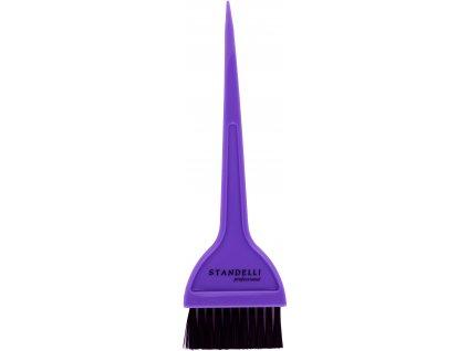 Standelli Professional Štětec na barvení vlasů fialový široký