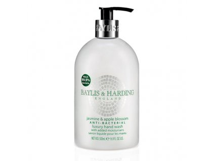 Baylis & Harding Antibakteriální tekuté mýdlo Jasmín a jablečný květ 500 ml