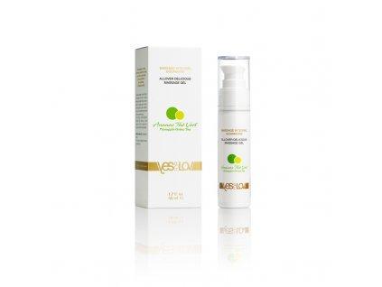 allover delicious massage gel pineapple green tea