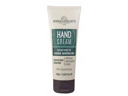 Workaholic´s Zvláčňující krém na ruce s konopným olejem a ureou 75 mL