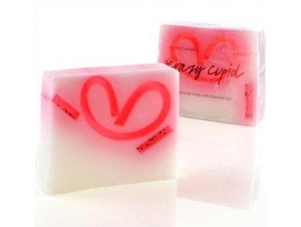Bomb cosmetics Glycerinové mýdlo Bláznivý amor, 100 g