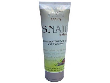 Victoria Beauty Snail Extract Regenerační pleťová maska se šněčím extraktem, 177 ml + 27 ml zdarma