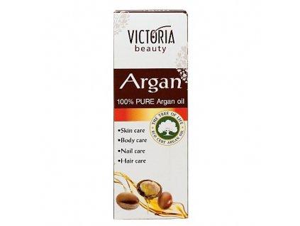 Victoria Beauty 100 % Arganový olej, 30 ml