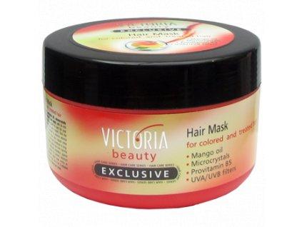 Victoria Beauty Exclusive Krémová maska pro barvené a chemicky ošetřené vlasy, 350 ml