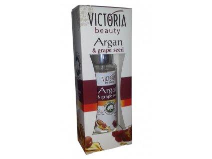 Victoria Beauty ARGAN Tekuté krystaly s arganovým olejem a olejem z hroznových jadérek, 50 ml