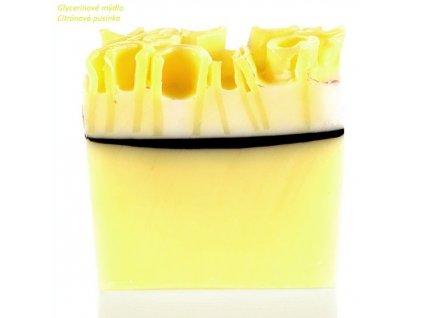 Bomb cosmetics Glycerinové mýdlo Citrónová pusinka, 100 g