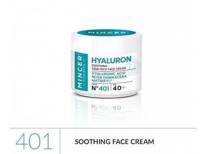 mincer pharma hyaluron 401 soothing face cream