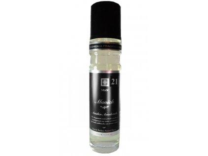 Eau de Parfum Munich MAN 21, Metálico Amaderado, 125 ml
