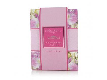 Ashleigh & Burwood Vonné sáčky FREESIA & ORCHID (frézie a orchidej) 3 ks
