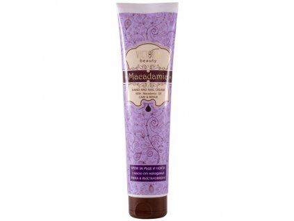 Victoria Beauty Macadamia Krém na ruce a nehty s makadamiovým olejem, 100 ml