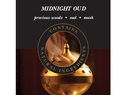 Ashleigh & Burwood Náplň do katalytické lampy MIDNIGHT OUD, 500 ml