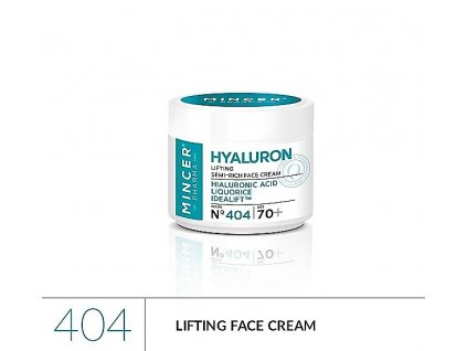 mincer pharma hyaluron 404 lifting face cream