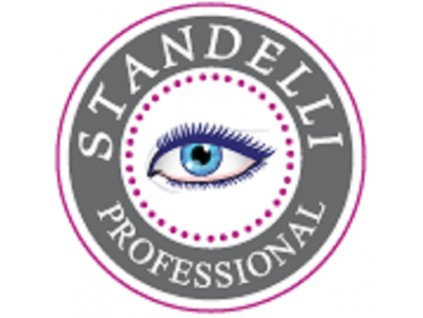 Standelli Professional Designová pinzeta šikmý hrot leopard
