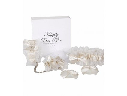 Bijoux Indiscrets Happily Ever after - erotický set, bílý