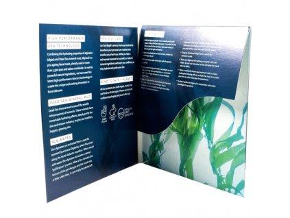 DEAD SEA Spa MAGIK Slupovací pleťová maska s výtažky z mořských řas, 1ks