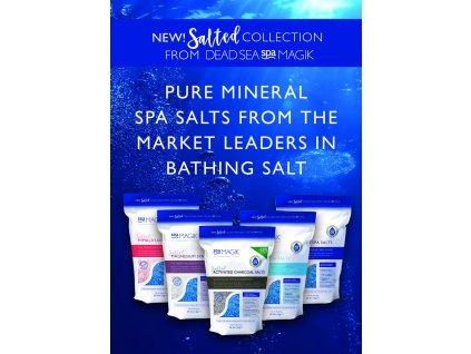 DEAD SEA Spa MAGIK Mořská sůl do koupele 1 kg