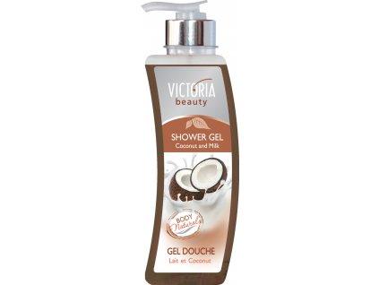 Victoria Beauty Sprchový gel Kokos a mléko, 400 ml