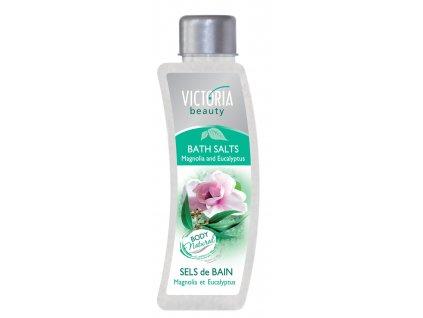 Victoria Beauty Koupelová sůl Magnólie a eukalyptus, 520 g