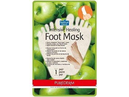 Purederm Intenzivní hojivá maska na nohy s výtažky z jablka, AKCE 2+1 ZDARMA
