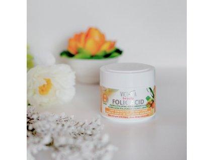 Mincer Folic Acid Polomastný denní a noční krém s jojobou a mořskými řasami 40+, 50 ml