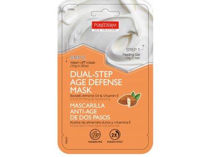 Purederm Dvoufázová pleťová maska s avokádovým olejem a vitamínem E, 13 g