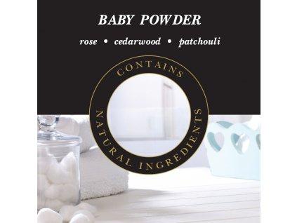Ashleigh & Burwood Náplň do katalytické lampy BABY POWDER (dětský pudr) 500 ml