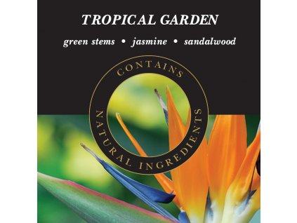 Ashleigh & Burwood Náplň do katalytické lampy TROPICAL GARDEN (tropická zahrada), 500 ml