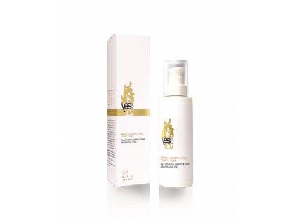 YESforLOV ALLOVER Masážní lubrikační gel, 100 ml