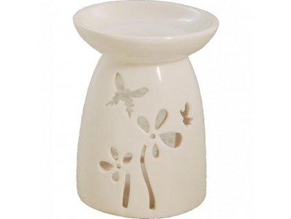 Bridgewater Candle Company Porcelánová aroma lampa Butterfly (motýli)