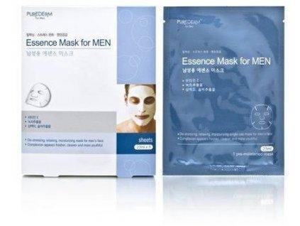 Purederm Antistresová pleťová maska pro muže