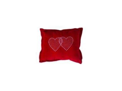 Lavennis Polštářek z lásky - Srdce v lásce spojené, 25 x 35 cm