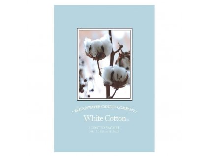 Bridgewater Candle Company  Vonný sáček White Cotton, 115 ml