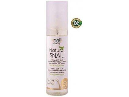 Victoria Beauty Natural snail HYDRA-REST Micelární hydratační voda, 150 ml