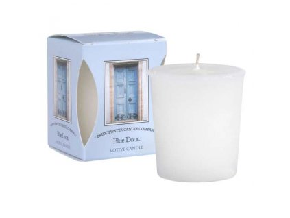 Bridgewater Candle Company Votivní Svíčka Blue Door, 15 hodin