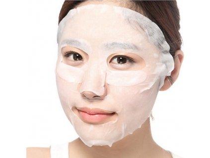 Skinlite Pleťová maska s výtažkem z Aloe vera a kolagenem, 1ks
