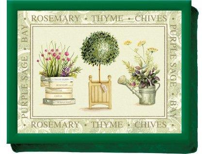 Creative Tops Servírovací tác s polštářem Topiary, 44x33 cm