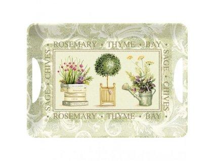 Creative Tops Melaminový tác Topiary, 47x33 cm