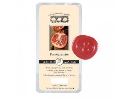 Bridgewater Candle Company  Vonný vosk do aromalampy Pomegranate, 73 g