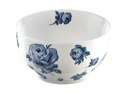 Creative Tops Vintage indigo Porcelánová miska Floral, 16 cm