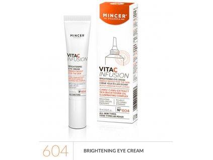 Mincer VITAC Infusion Prosvětlující oční krém s výtažkem z plodu camu camu, 15 ml